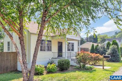 Charlottesville Single Family Home For Sale: 1806 East View St
