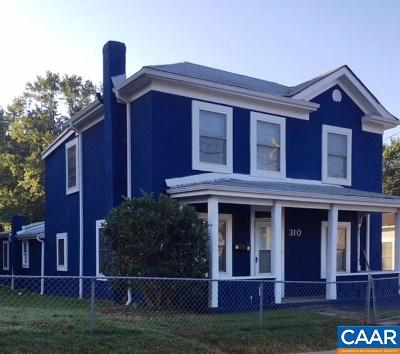 Charlottesville Single Family Home For Sale: 310 NW 10th St
