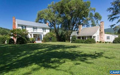 Albemarle County Single Family Home For Sale: 5576 Boaz Rd
