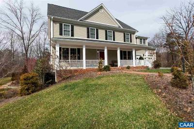 Charlottesville Single Family Home For Sale: 2156 Polo Grounds Rd