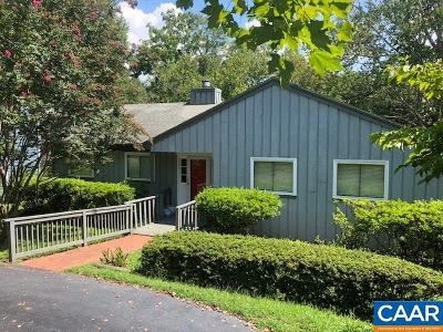 Charlottesville Single Family Home For Sale: 1727 Easy Ln