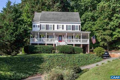 Charlottesville Single Family Home For Sale: 952 Rockledge Dr