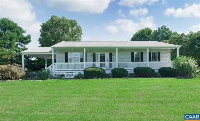 Scottsville Single Family Home For Sale: 4706 S Rolling Rd South
