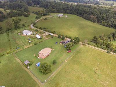 Single Family Home For Sale: 7480 Tabletop Mountain Rd