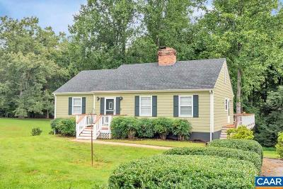 Albemarle County Single Family Home Pending: 7726 Albevanna Spring Rd