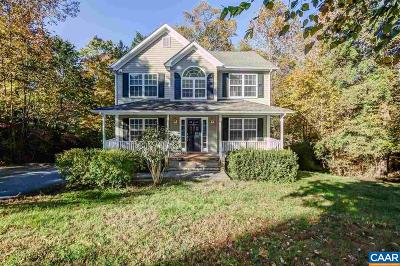 Fluvanna County Single Family Home For Sale: 772 Jefferson Dr