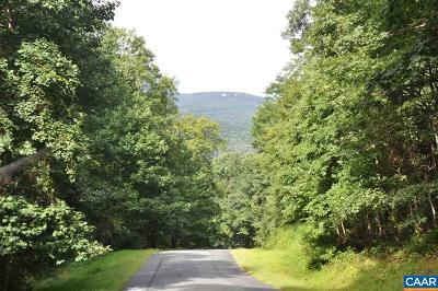 Nelson County Lots & Land For Sale: 711 Far Knob Climb