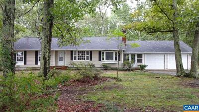 Fluvanna County Single Family Home For Sale: 4073 Rolling Rd South