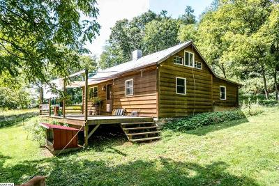 Staunton Single Family Home For Sale: 398 Smoky Row Rd