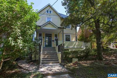 Charlottesville  Single Family Home For Sale: 428 NE 2nd St
