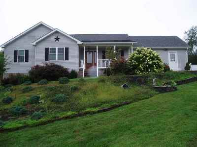 Staunton VA Single Family Home For Sale: $244,000