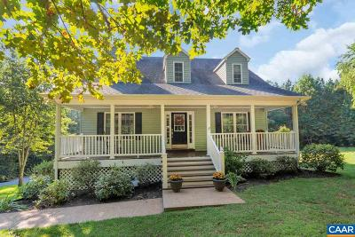 Scottsville Single Family Home For Sale: 283 Ridge Ln