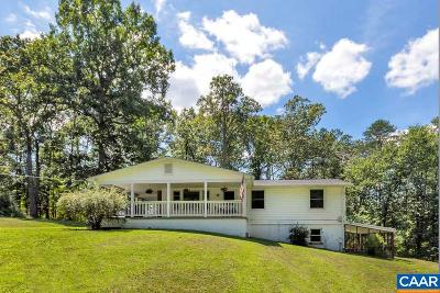 Albemarle County Single Family Home For Sale: 7200 Fortune Ln