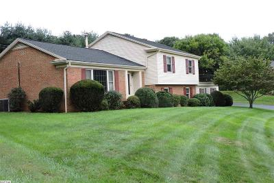 Staunton VA Single Family Home For Sale: $239,900