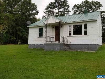 Nelson County Single Family Home For Sale: 1827 Salem Rd