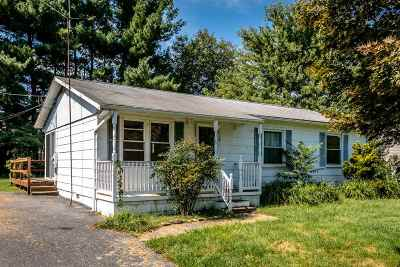 Weyers Cave VA Single Family Home For Sale: $105,000