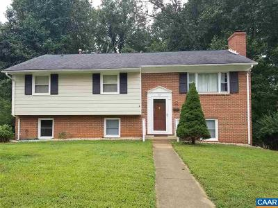 Charlottesville Single Family Home For Sale: 614 Moseley Dr