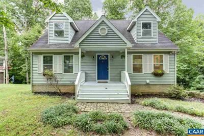 Fluvanna County Single Family Home For Sale: 5 Iroquois Way