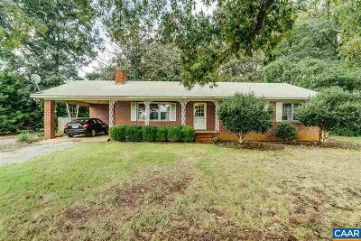 Louisa County Single Family Home For Sale: 193 Zachary Taylor Highway