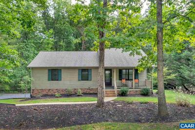 Fluvanna County Single Family Home For Sale: 3 Towpath Ct