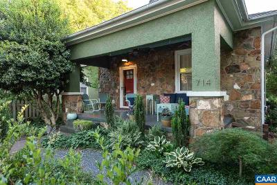 Belmont Single Family Home For Sale: 714 Monticello Ave