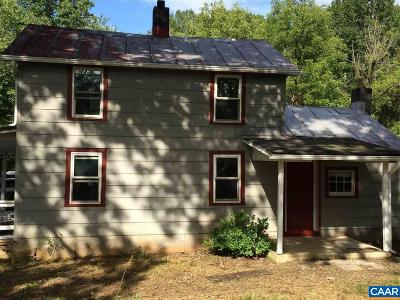 Albemarle County Single Family Home For Sale: 5530 Stump Town Ln