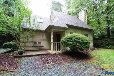 Charlottesville Single Family Home For Sale: 1749 Stoney Creek Dr