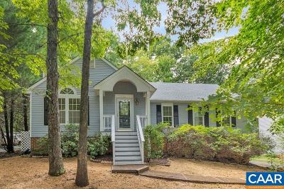 Fluvanna County Single Family Home For Sale: 16 Stonewall Rd