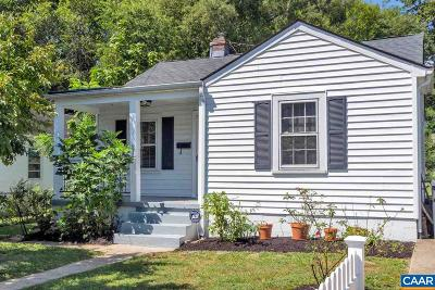 Charlottesville Single Family Home For Sale: 211 Meade Ave