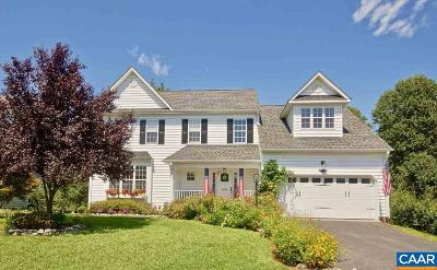 Crozet Single Family Home For Sale: 4930 Lake Tree Ln