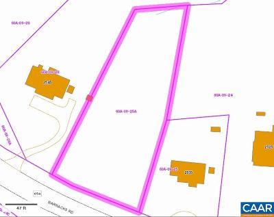 Lots & Land For Sale: Barracks Rd
