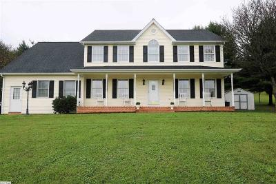 Staunton VA Single Family Home For Sale: $404,900