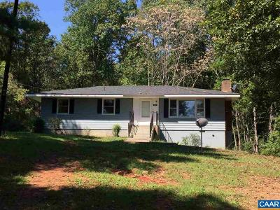 Nelson County Single Family Home For Sale: 168 Hilltop Ln
