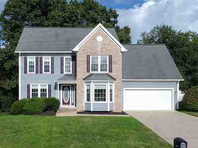 Single Family Home For Sale: 1520 Apple Ridge Ct