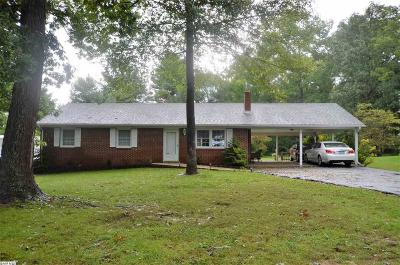 Stuarts Draft VA Single Family Home For Sale: $176,000