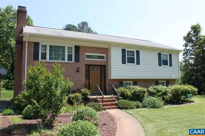 Charlottesville Single Family Home For Sale: 2306 Greenbrier Dr
