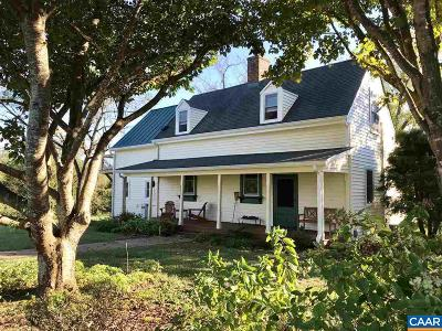 Louisa County Single Family Home For Sale: 3095 Crewsville Rd