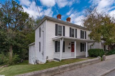 Staunton VA Single Family Home For Sale: $119,900