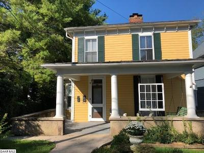Staunton VA Single Family Home For Sale: $277,500