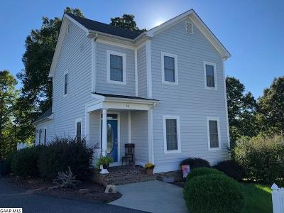 Staunton VA Single Family Home For Sale: $257,500