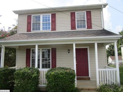 Staunton VA Single Family Home For Sale: $112,000