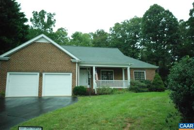 Albemarle County Single Family Home For Sale: 1688 Foxtail Pnes