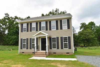 Louisa County Single Family Home For Sale: Lot 2 Hanback Rd