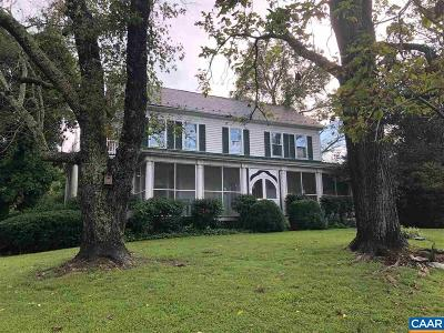 Fluvanna County Single Family Home For Sale: 15608 W River Rd