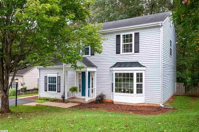 Charlottesville Single Family Home For Sale: 848 Harris Rd