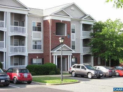 Albemarle County  Condo For Sale: 235 Yellowstone Dr #301