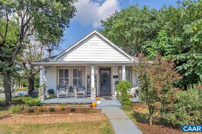 Belmont Single Family Home For Sale: 1101 Myrtle St