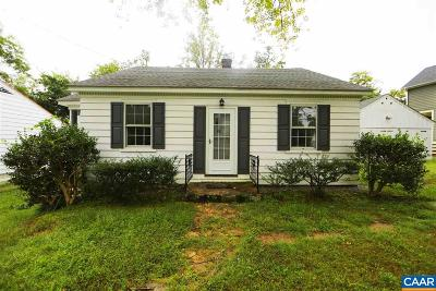 Charlottesville Single Family Home For Sale: 204 Harris Rd