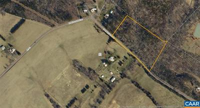 Fluvanna County Lots & Land For Sale: Barnaby Rd
