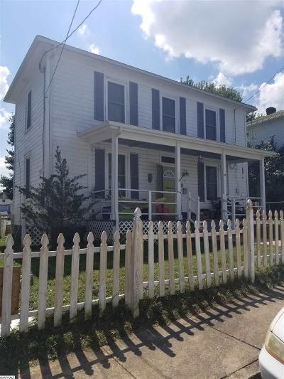 Staunton Single Family Home For Sale: 14 E Liberty St